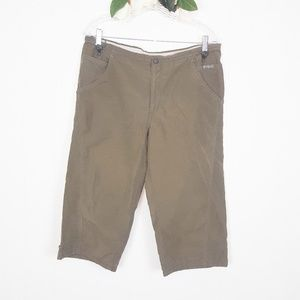 Columbia | Taupe Cropped Pants Size M